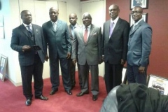 Members of Ghana's delegation to the final round of UN negotiation on the ATT at the UN Head Quarters in New York