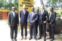 NEWZEALAND DELEGATION VISITS SMALL ARMS COMMISSION